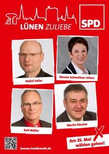 Für Beckinghausen und den nördlichen Bereich von Horstmar kandideren der Ratsherr Detlef Seiler und die Kreistagskandidatin Renate Schmeltzer-Urban an. Martin Püschel und Rolf Möller kandidieren in Horstmar und Niederaden für den Rat.