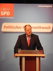 Peer Steinrück begeisterte mit seiner Rede 1