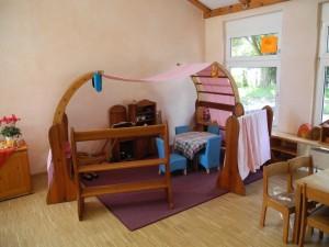 Die Räumlichkeiten erinnern an eine gemütliche Wohnung und vermitteln eine familiäre Atmosphäre