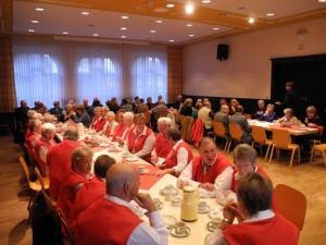 Gut besuchte Jubilarfeier 2013 der SPD-OV Beckinghausen und Horstmar im Bürgerhaus