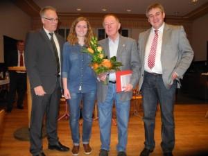 Jubilar Karl Menzel 45 Jahre