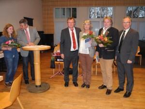 Jubilare Andrea Stengl und Wolfgang Preuss