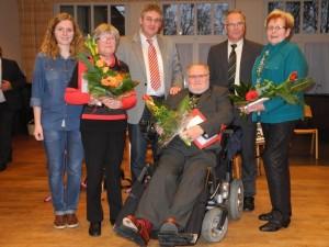 Jubilare Ursula Püschel, Elke Toppmöller, Adolf Toppmöller
