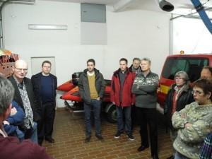Die SPD Beckinghausen und Horstmar informierte sich vor Ort über die Arbeit der Feuerwehr