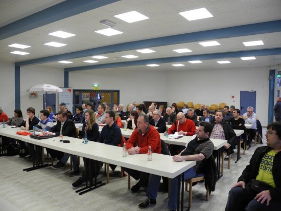 Über 60 Teilnehmer diskutierten auf der Arbeitsnehmerkonferenz der SPD in Lünen mit Arbeitsminister Schneider