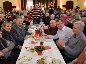SPD Mitglieder der Ortsvereine Beckinghausen und Horstmar auf dem politischen Aschermittwoch der SPD in Schwerte