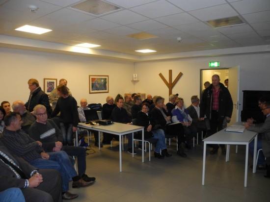 Grosser Andrang herrschte beim Bürgerdialog zur Entwicklung des Sportplatzgeländes in Lünen-Beckinghausen