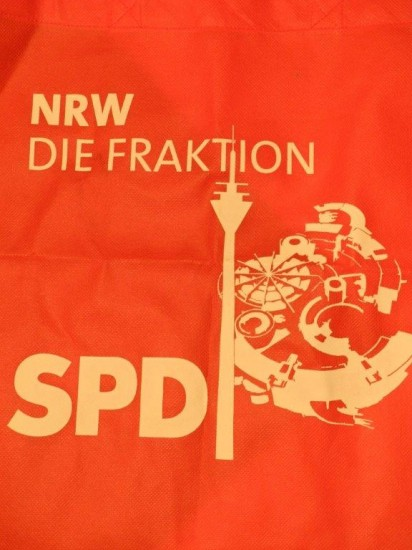 NRW Die Fraktion SPD auf rot