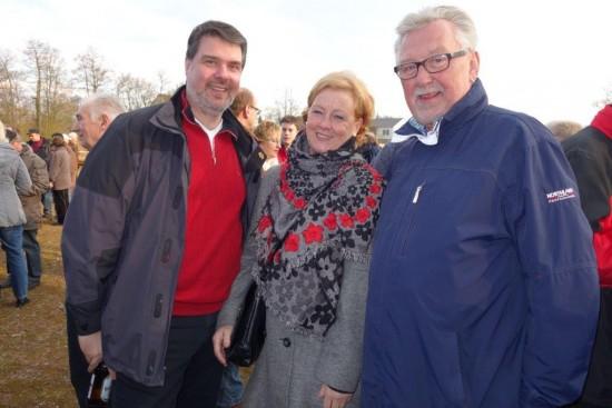 Michael Thews (MdB), Michaela Engelmeier (MdB) trafen auf Klaus Steffenhagen (ehemaliger Polizeipräsident Köln)