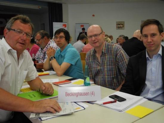 Die Delegierten des SPD-OV Beckinghausen