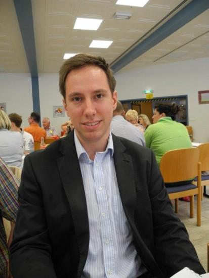 Robert Schmidt. Der neue Mitglieder und Bildungsbeauftragte aus dem SPD-OV Beckinghausen