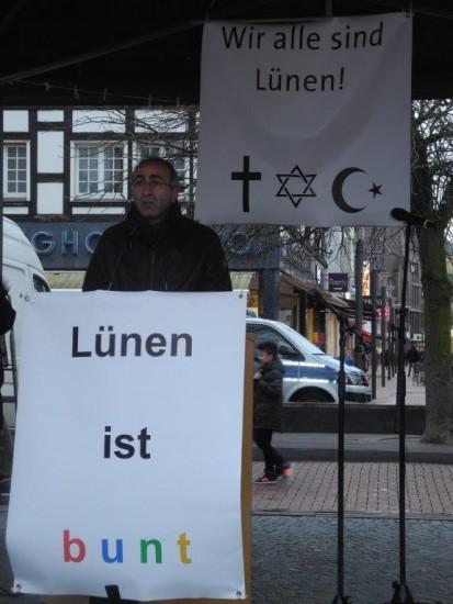 Gegen Rechts Kenen Kücük, Vorsitzender des Multikulturellen Forums Lünen