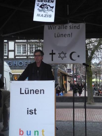 Gegen Rechts Pfarrer Friedrich Stiller