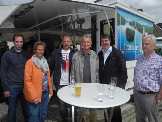 v.l.: Robert Schmidt, Ute Fridriszik, Sven Weber, Karl-Heinz Fridriszik , Michael Thews u. Johannes Kunze