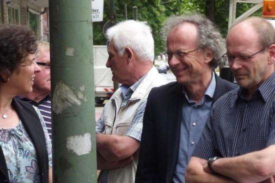 Auch der SPD-Ratsherr Siegfried Störmer sowie Minister Rainer Schmeltzer waren vor Ort