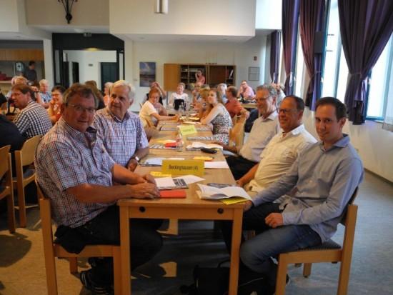 Die Delegierten für den SPD-Ortsverein Lünen-Beckinghausen hier auf dem Parteitag zur Nominierung von Michael Thews für die nächste Bundestagswahl