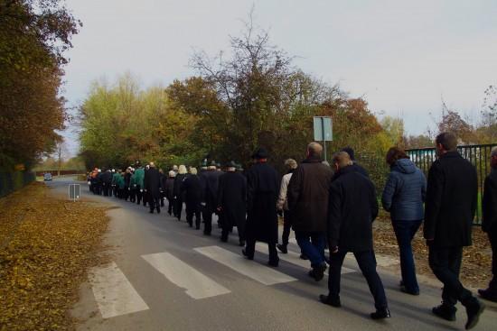 Viele TeilnehmerInnen nahmen an der Gedenkveranstaltung in Lünen-Beckinghausen teil