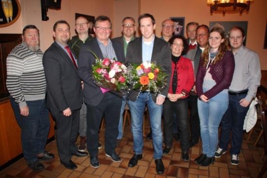 Gruppenfoto der JHV SPD Lünen-Beckinghausen